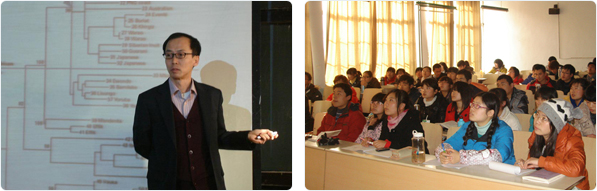 Lectures to junior students of Linyi University